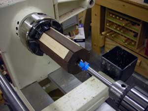 drilling for the tenon